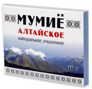 Мумиё Алтайское в таблетках